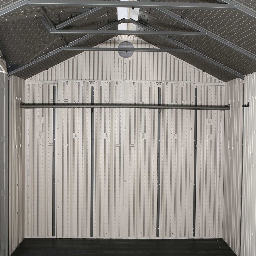 Lifetime 12.5ft x 8ft Heavy Duty Plastic Shed