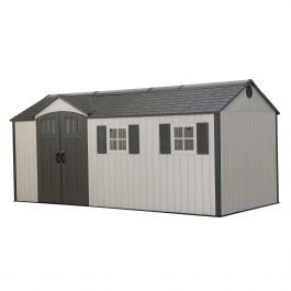 Lifetime 17.5ft x 8ft Heavy Duty Plastic Shed