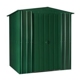 Lotus 6ft x 3ft Solid Metal Shed in Heritage Green
