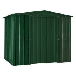 Lotus 8ft x 5ft Solid Metal Shed in Heritage Green