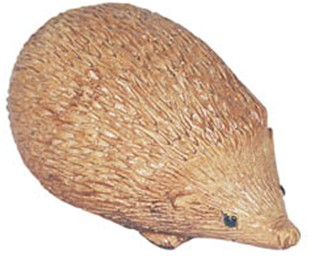 Medium Hedgehog Stone Figurine