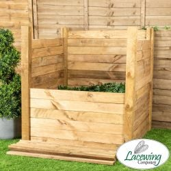 Easy Load Slotted Compost Bin - 1000 Litres - by Lacewing™