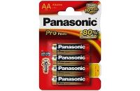 Panasonic Pro AA Batteries - Pack of 4