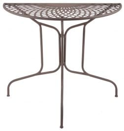 80cm Outdoor Semicircle Table - 80cm