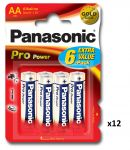 Panasonic Pro 1.5v AA Batteries - Pack of 12