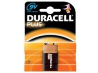 Duracell Plus 9v Batteries - Pack of 2