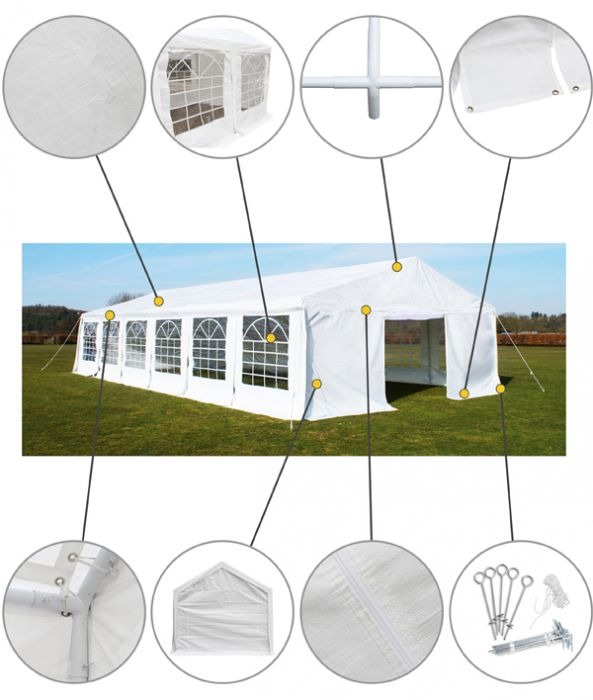 Luxury Marquee 3m x 10m