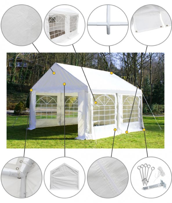 Luxury Marquee 3m x 4m