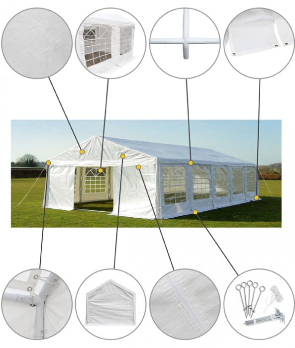 Luxury Marquee 6m x 10m