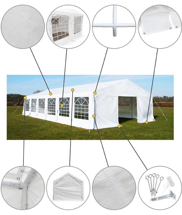 Luxury Marquee / Party Tent 6m x 12m