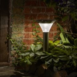 Magnum Stainless Steel Smart Solar Stake Light