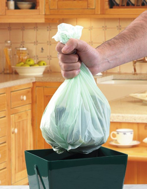 Biodegradable 5 Litre Compost Caddy Liners (20 per roll)
