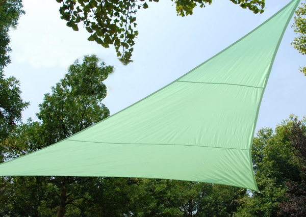 Kookaburra® 3.6m Triangle Mint Waterproof Woven Shade Sail