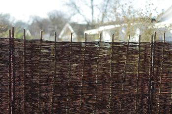 4ft (1.2m) Willow Hurdles Fencing Panel by Papillon™