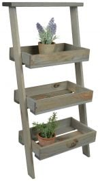 Outdoor Lean-to Plant Ladder -73cm