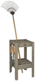 Outdoor Wooden Tool Stand - 42cm