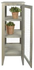 Garden Wooden Display Cabinet -118cm