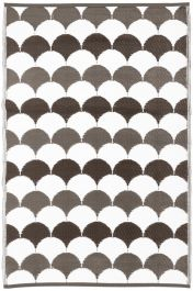 Garden Carpet , Beige/White - 180cm
