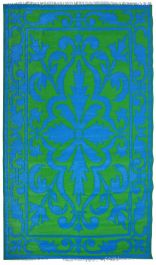 Garden Carpet , Blue/Green -241cm