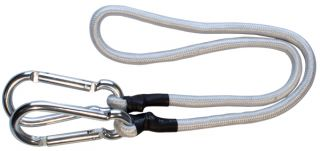 Aluminium Snap Hooks with 80cm Bungee Rope
