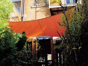 Coolaroo Terracotta Sail Shade - Square 5.4m