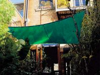 Coolaroo Forest Green Sail Shade - Square 5.4m