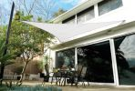 Coolaroo Polar White Sail Shade - Triangle 3.6m