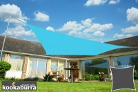 Kookaburra® 5.4m Square Azure Waterproof Woven Shade Sail