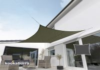Kookaburra 3.6m Square Sage Waterproof Woven Shade Sail