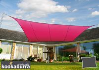 Kookaburra® 3.6m Square Pink Waterproof Woven Shade Sail