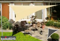 Kookaburra 2m Triangle Sand Party Sail Shade (Woven - Water Resistant)