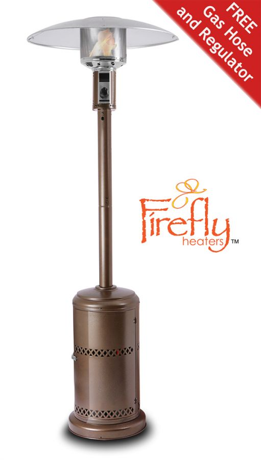 Firefly� 12kW Freestanding Powder Coated Steel Gas Patio Heater