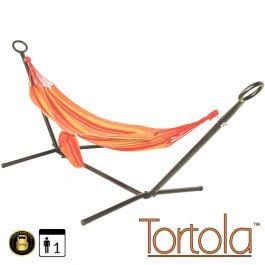 Salsa Outdoor Garden Hammock With Hammock Stand with Carry Bag - by Tortola®