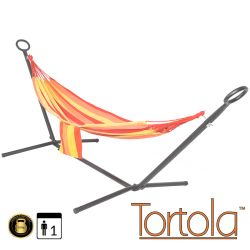 Sunflower Outdoor Garden Hammock With Hammock Stand with Carry Bag - by Tortola®