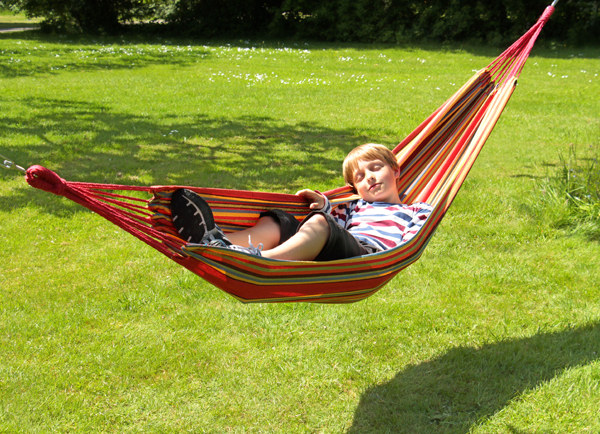 Tortola Tropica Outdoor Garden Single Hammock