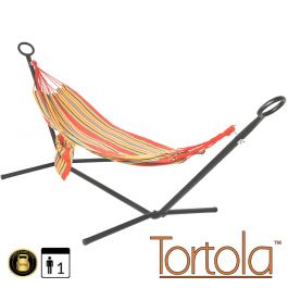 Tropica Outdoor Garden Hammock With Hammock Stand with Carry Bag - by Tortola®