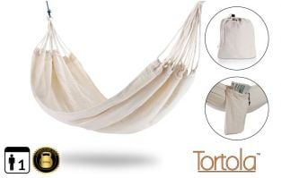 Tortola Nautical Outdoor Garden Single Hammock