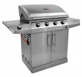 Charbroil Performance T-47G 4 Burner Gas BBQ with Side Burner H116cm x W151cm