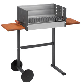 Dancook 7300 Trolley Charcoal Barbecue H85cm x W93cm