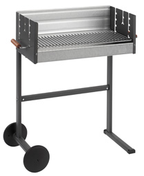 Dancook 7400 Trolley Charcoal Barbecue H85cm x W77cm