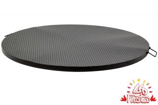 Black Steel Table Top for 75cm Fire Bowl - by La Fiesta