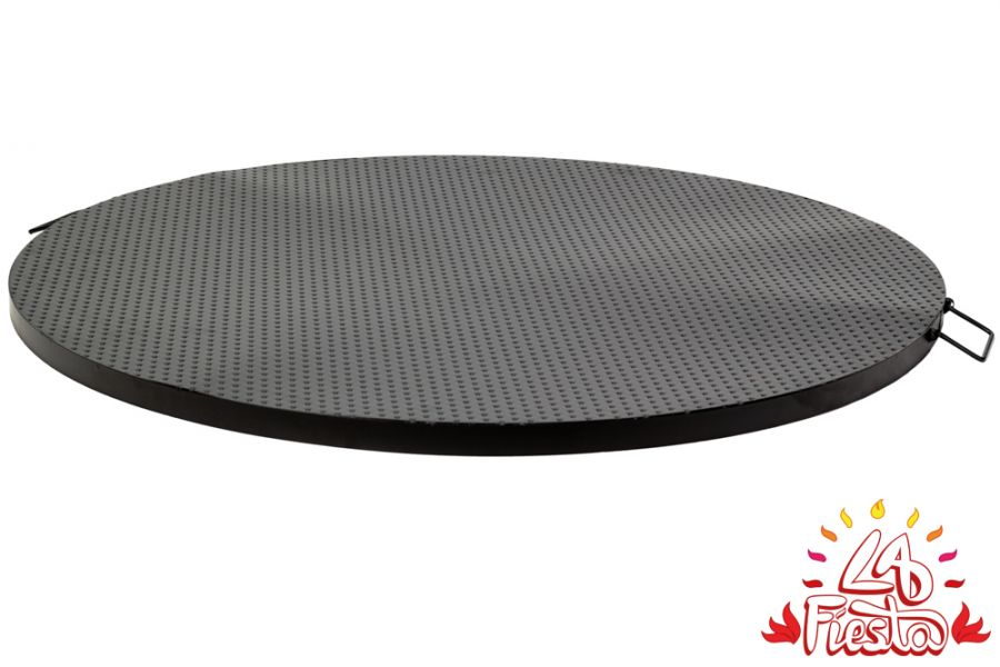 Black Steel Table Top for 80cm Fire Bowl - by La Fiesta