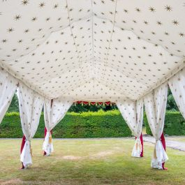 Lining And Pole Covers  for 3x6m Indian Marquee