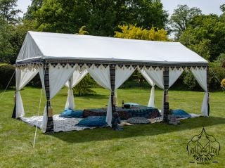 3x6m Luxury Indian-Style Waterproof Polycotton Marquee - by Kerala™