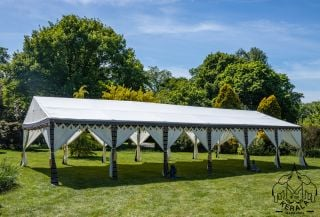6x12m Luxury Indian-Style Waterproof Polycotton Marquee - by Kerala™