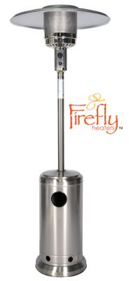 12kW Freestanding Stainless Steel Gas Patio Heater by Firefly™
