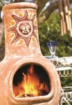 Sunset Clay Chimenea - Medium and Large Sizes