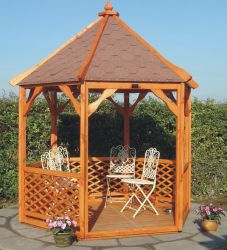 Hexagonal Gazebo 9 x 9