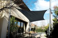 Coolaroo Charcoal Sail Shade - Square 5.4m