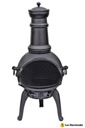 Lisbon Cast Iron Chimenea Medium - H95cm x D40cm